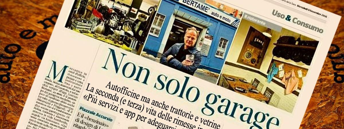 Bertamè in un articolo del Corriere dedicato ai nuovi artigiani